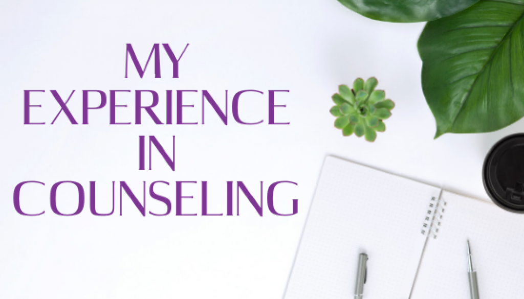 My Experience in counseling